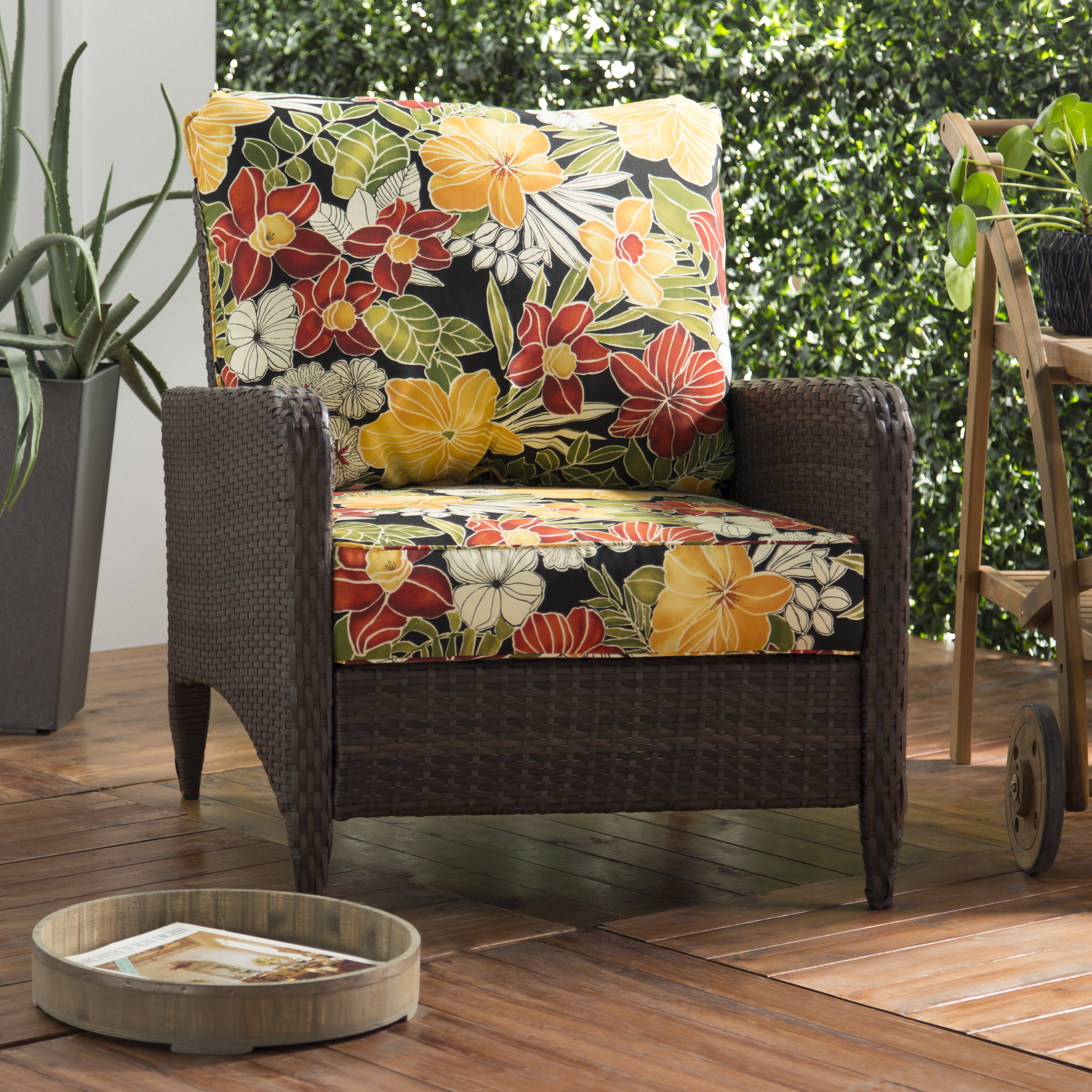 Bay isle home indoor outdoor lounge chair cushion reviews wayfair