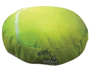 Round Tennis Ball Dog Pillow