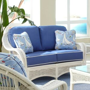 Regatta'' Loveseat by Spice Islands Wicker