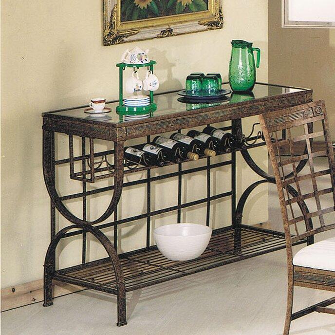 AJ Homes Studio Cleopatra Bar Cart