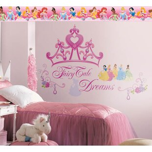 Disney Princess Crown Room Makeover Wall Decal