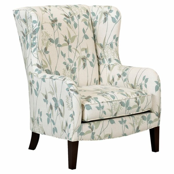 Penny Furniture: Klaussner Furniture Penny Wingback Chair & Reviews