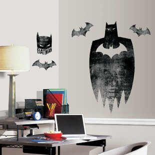 Batman Silhouette Peel And Stick Giant Wall Decals