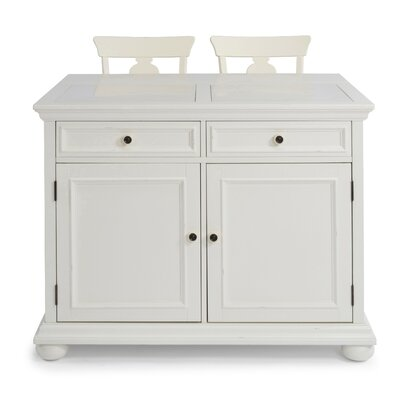 Brunton Kitchen Island With Butcher Block : Kitchen Islands & Carts Sale - Up to 60% Off Until September 30th Wayfair