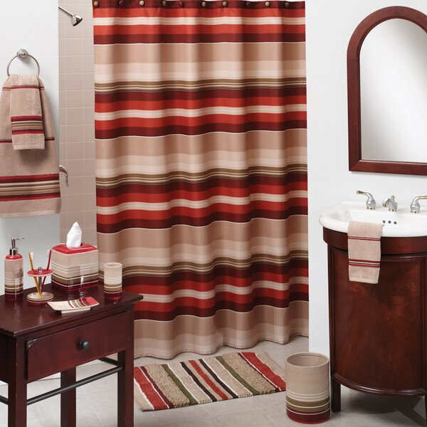 Saturday Knight Madison Stripe Shower Curtain Reviews