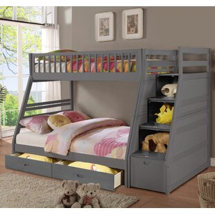 Mimi Twin Over Full Bunk Bed With Drawers