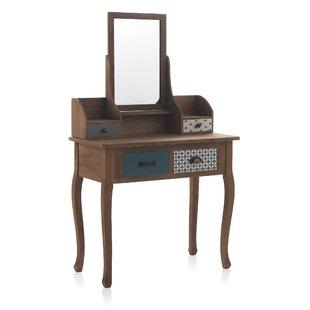 Dark Wood Dressing Table Wayfair Co Uk