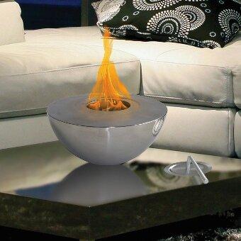 Attractive Sutton Indoor/Outdoor Gel Fuel Tabletop Fireplace