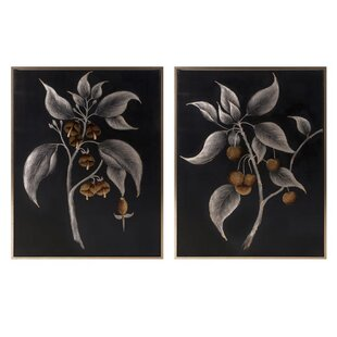 U0027Ebinau0027 2 Piece Framed Wall Art Set