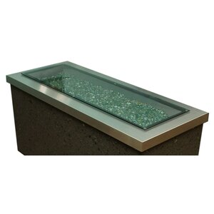 Fire Pit Glass Cover
