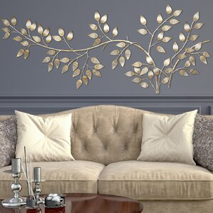 Flowing Leaves Wall Décor