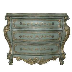 au clair 3 drawer accent chest - Accent Chests