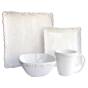 Evann 16 Piece Dinnerware Set, Service for 4
