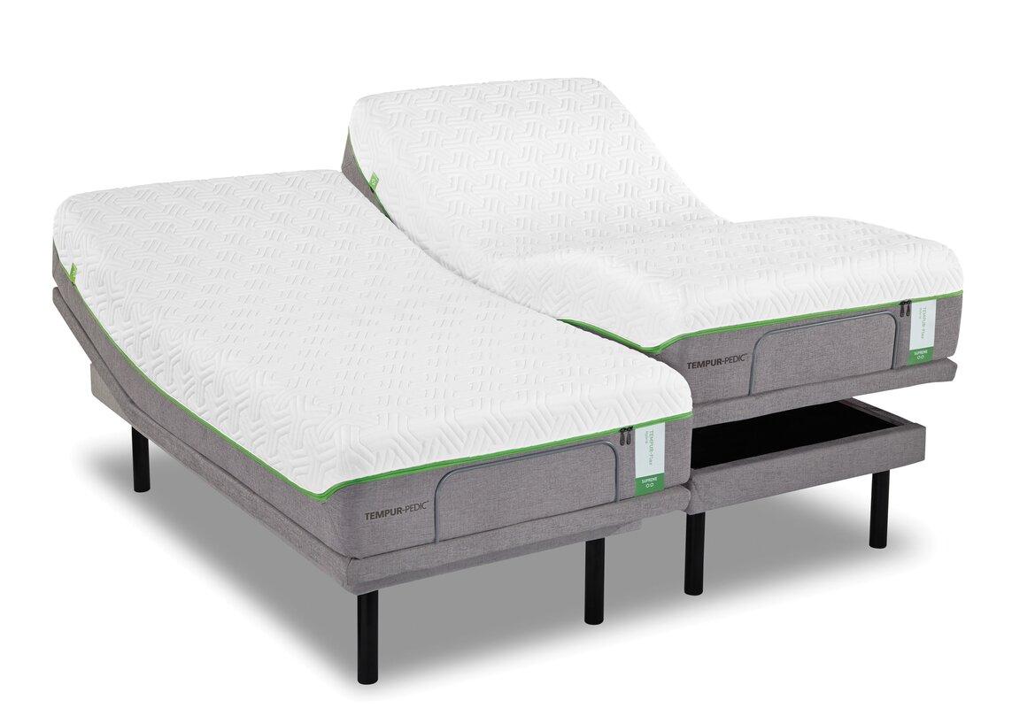 Tempur Pedic Ergo Dual California King Adjustable Bed Base Amp Reviews Birch Lane