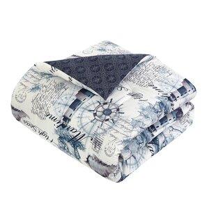 Cresthaven Maritime 7 Piece Reversible Comforter Set