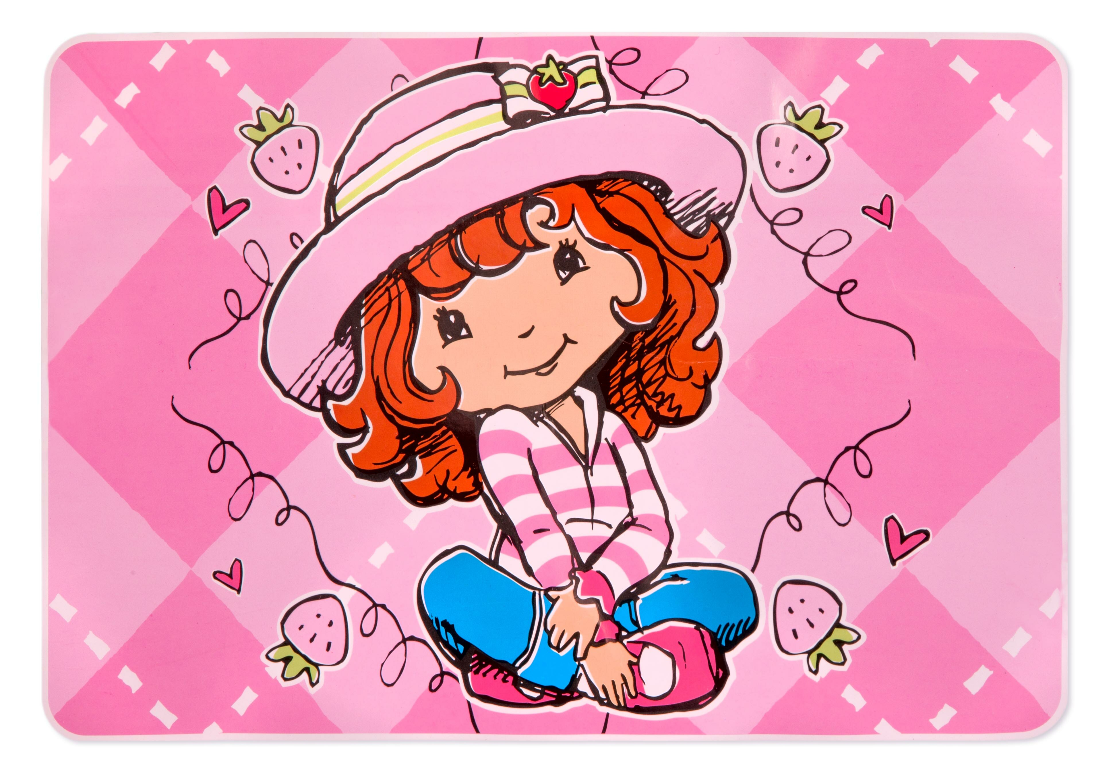 . Strawberry Shortcake Pink Indoor Area Rug