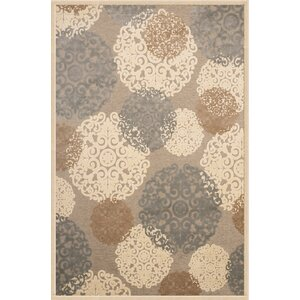 Baxter Grey/Tan/Ivory Area Rug