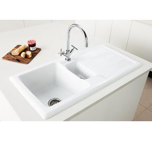 Double Bowl Ceramic Kitchen Sinks | Wayfair.co.uk