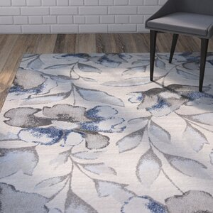 Upper Vobster Gray/Blue Area Rug