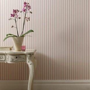 Clarisse 10m L x 68cm W Stripes Roll Wallpaper by Clarke&Clarke