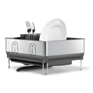 Find Dish Racks & Dish Drainers for Your Kitchen | Wayfair Commercial Kitchen Drying Rack Trays on coffee drying racks, hotel drying racks, industrial drying racks, bakery drying racks, school drying racks, fireplace drying racks, pool drying racks,