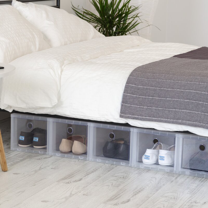 High Stackable Shoe Storage Box