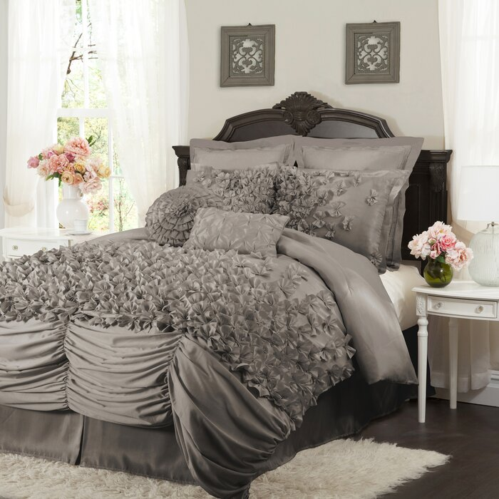 soft white xl oversized king size htm bedding comforter tuck p micro crys wht sets pin best