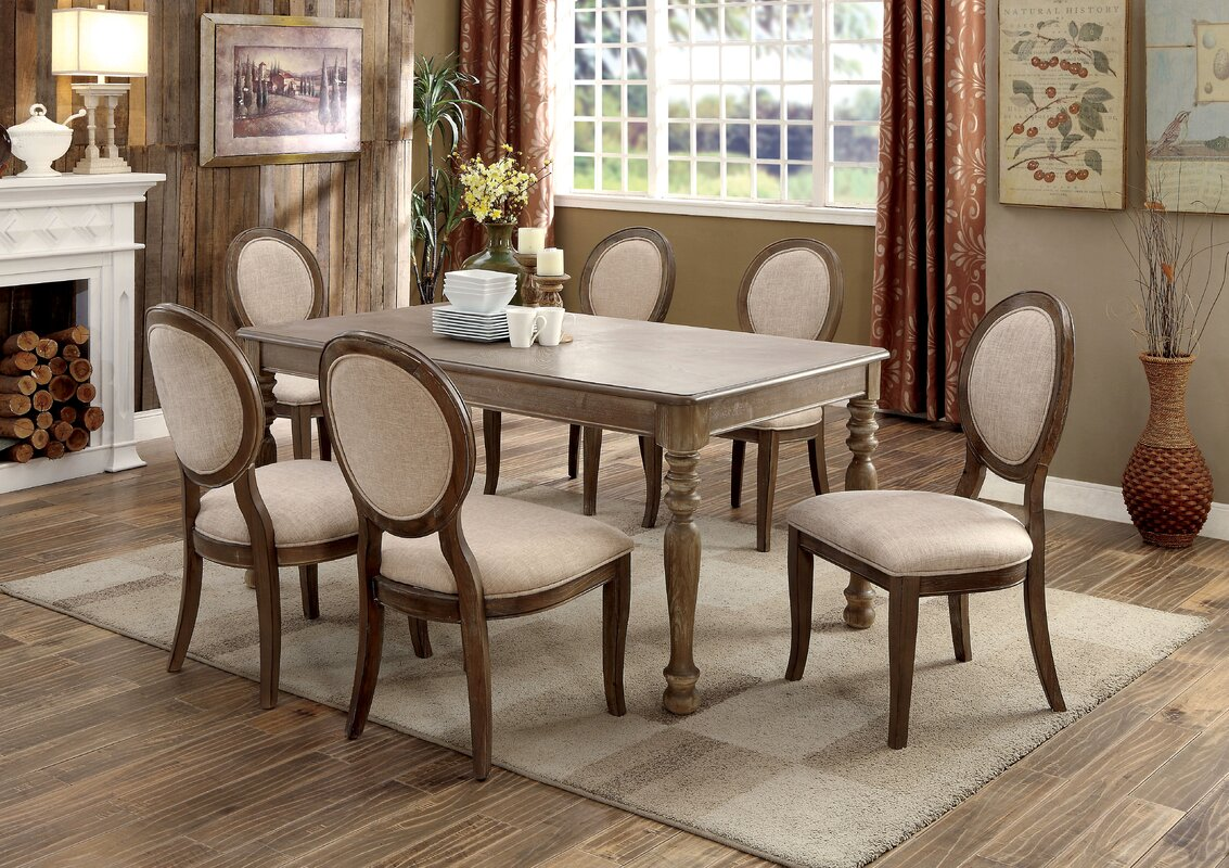 One Allium Way Bloomingdale Transitional Dining Table Reviews