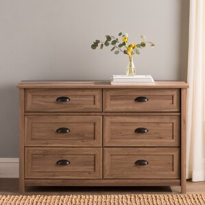 Reinhold 6 Drawer Dresser by Andover Mills