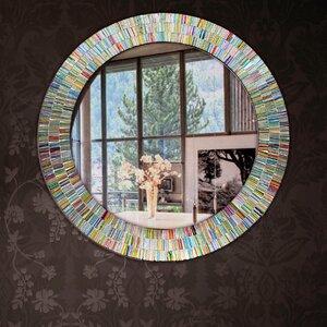 Round Rainbow Bathroom/Vanity Wall Mirror