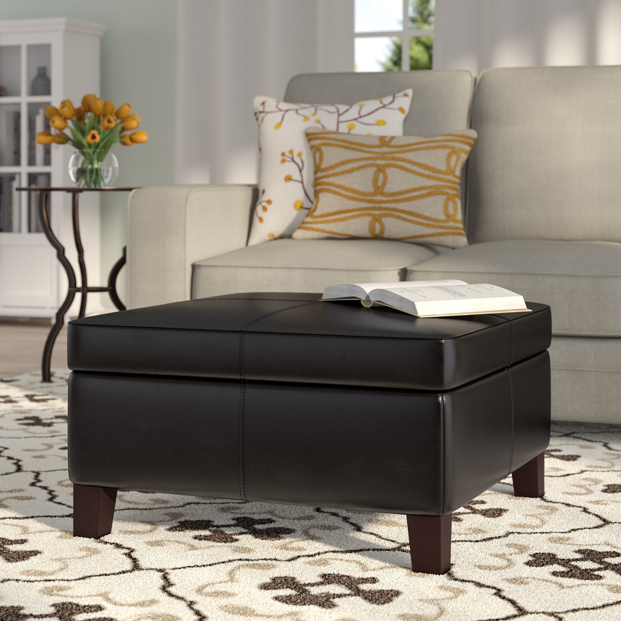 oversized bench ottoman ways favorable furniture home to e round your leather luxuriant fabric cocktail table for storage create