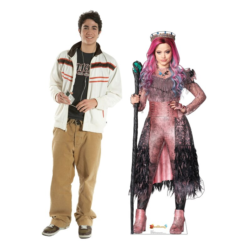 Audrey Disney's Descendants 3 Cardboard Standup