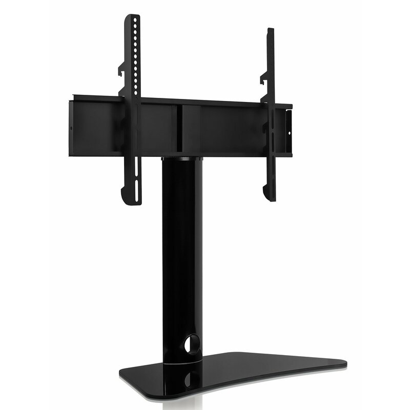 Mount it Universal Stand Tabletop TV Bracket Swivel/Fixed ...
