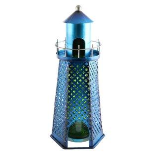 Felecia Lighthouse 1 Bottle Tabletop Wine Rack