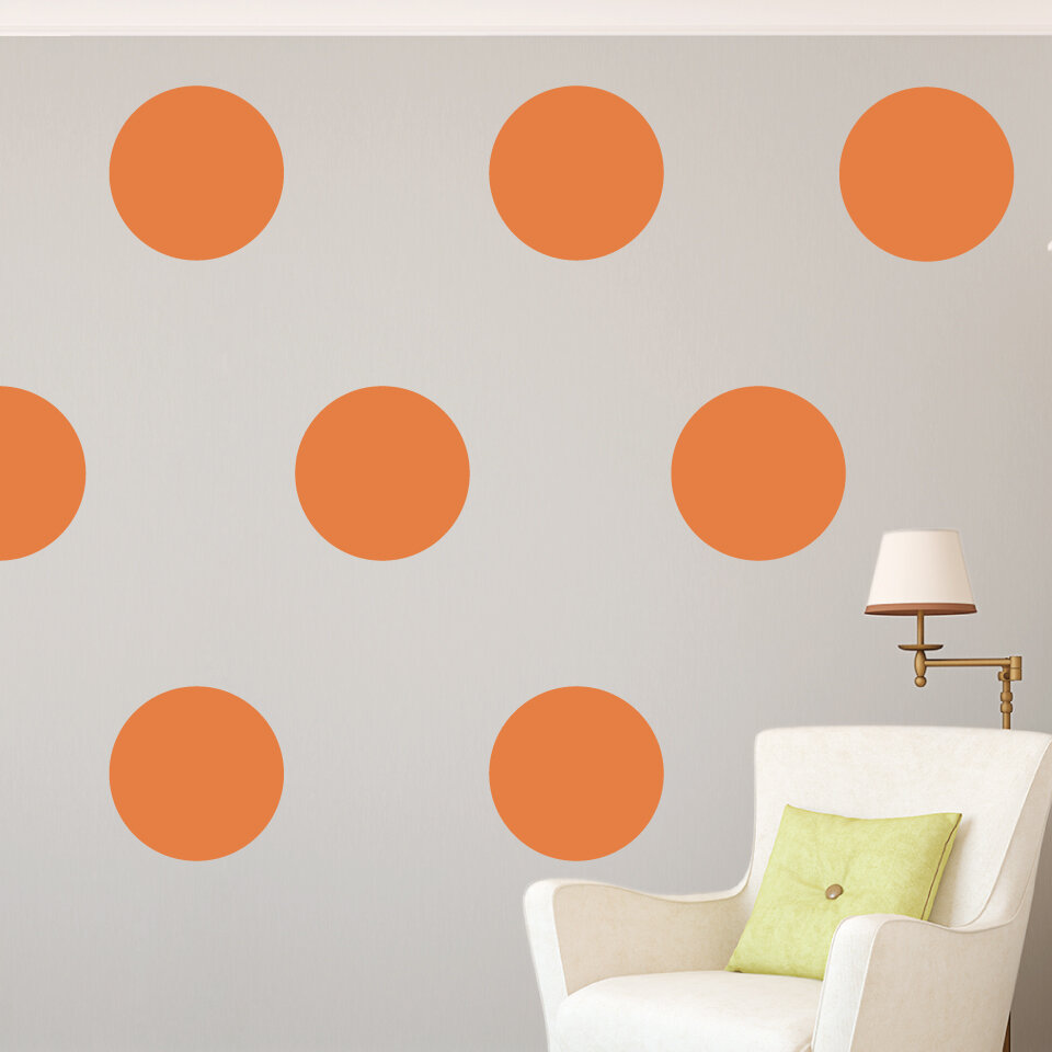 Giant Polka Dots Wall Decal Reviews Joss Main