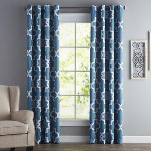 Blue Dining Room Curtains | Wayfair
