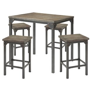 Fargo 5 Piece Counter Height Dining Set