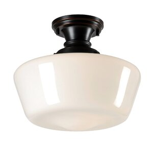 Augusta 1-Light Flush Mount