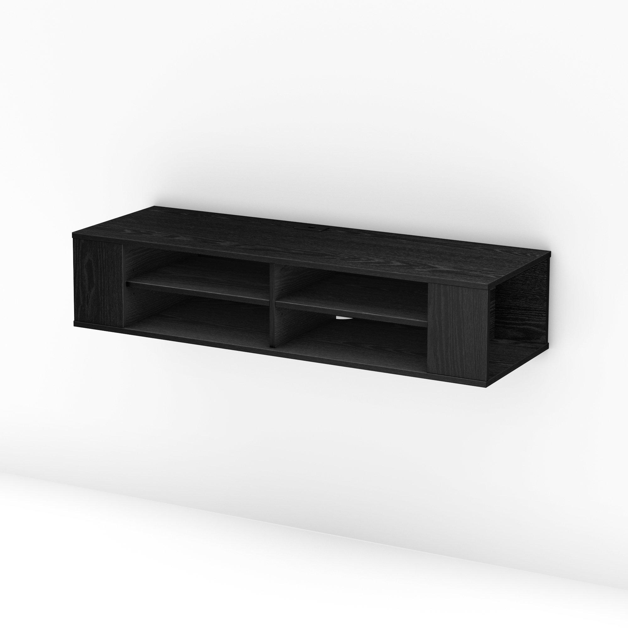Floating Tv Console Wayfair # Table Tv Design Coin