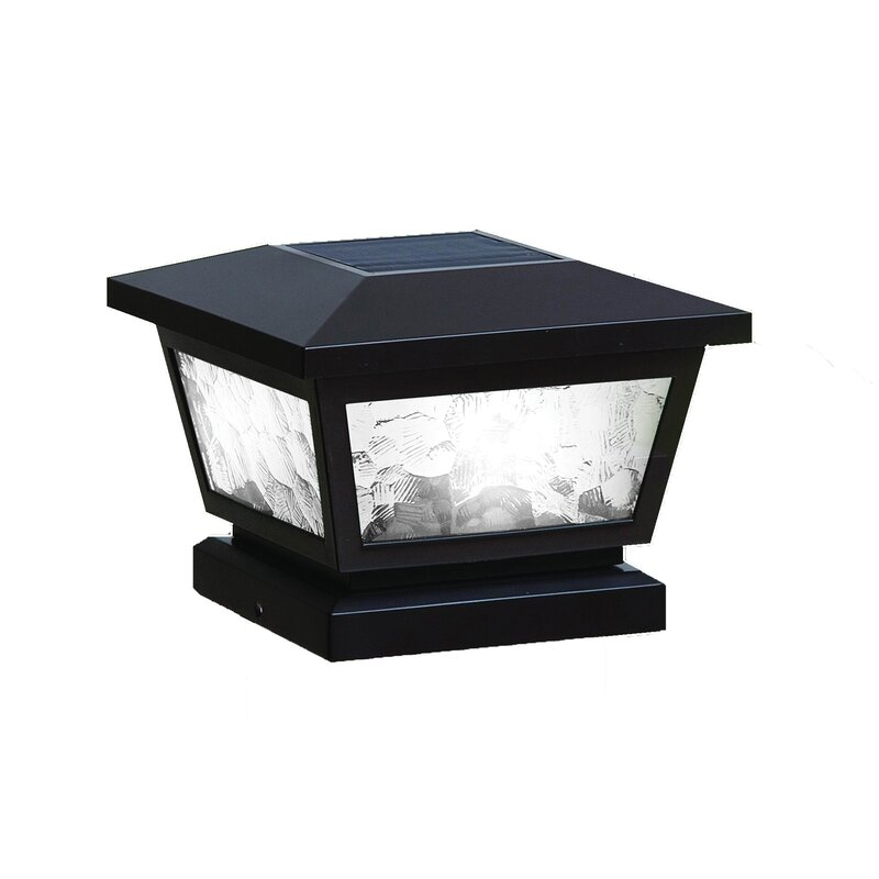 Fairmont 1-light Led Fence Post Cap