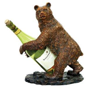 Pineiro Bear 1 Bottle Tabletop Wine Rack