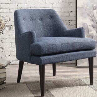 Contemporary Navy Blue Accent Chair Property