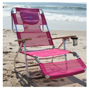 3 In 1 Reclining Beach Chair. By Ostrich Chair