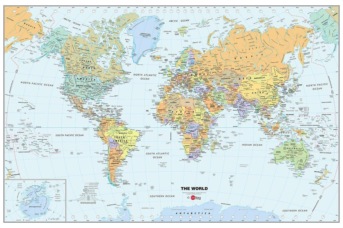 Liebenswert Wandtattoo Weltkarte Beste Wahl