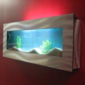 Aussie 7.5 Gallon Wall Mounted Aquarium Tank