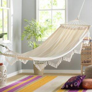 edyth fringed cotton tree hammock