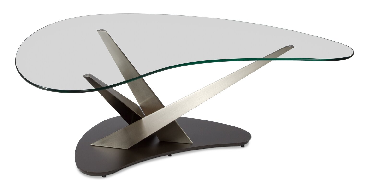 Elitemodern crystal boomerang coffee table reviews wayfair crystal boomerang coffee table geotapseo Choice Image