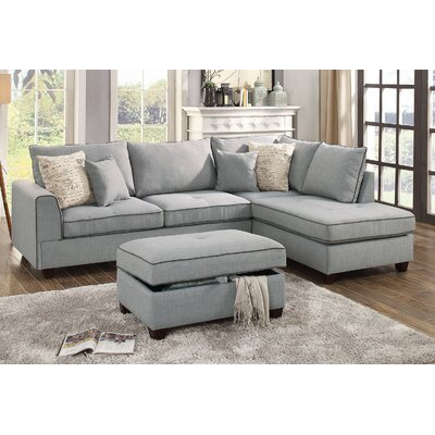 Chaise Sofa Sectionals You Ll Love Wayfair