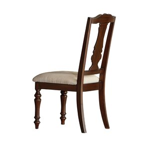 Curtice Traditional Upholstered Dining Ch..