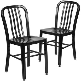 Phineas Metal Dining Chair (Set of 2)